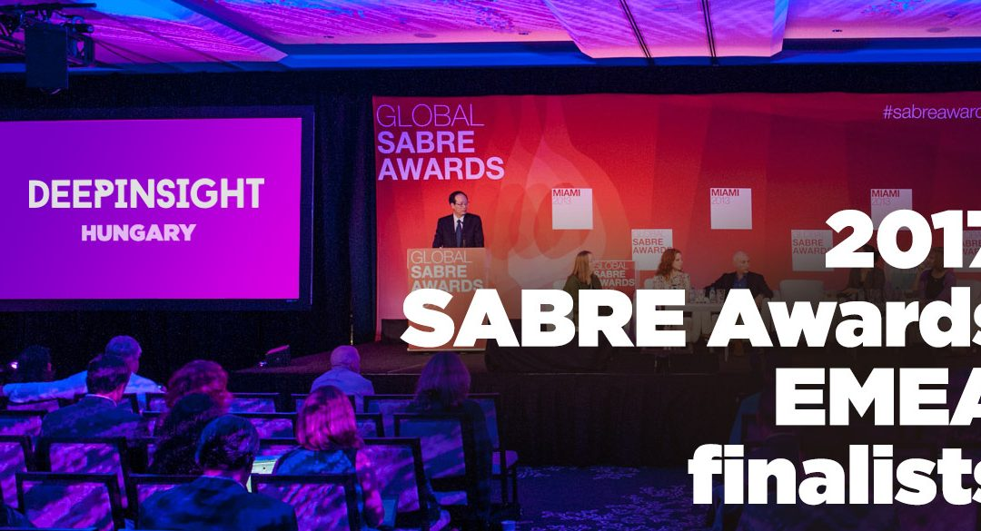 A DeepInsight ott van a Sabre Awards döntőjében!