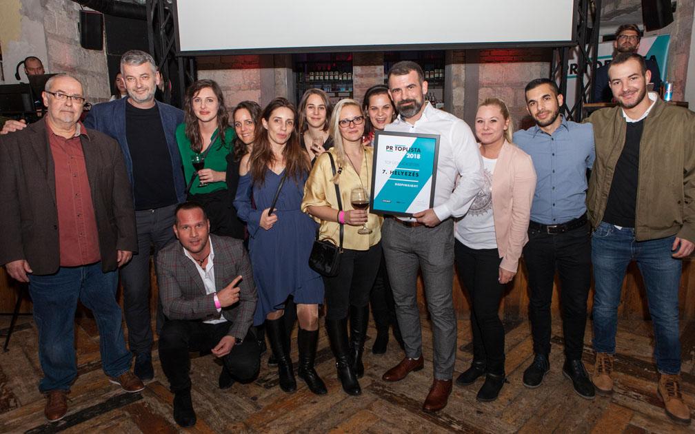 DeepInsight ügynökség 2018 legjobb PR ügynökségei